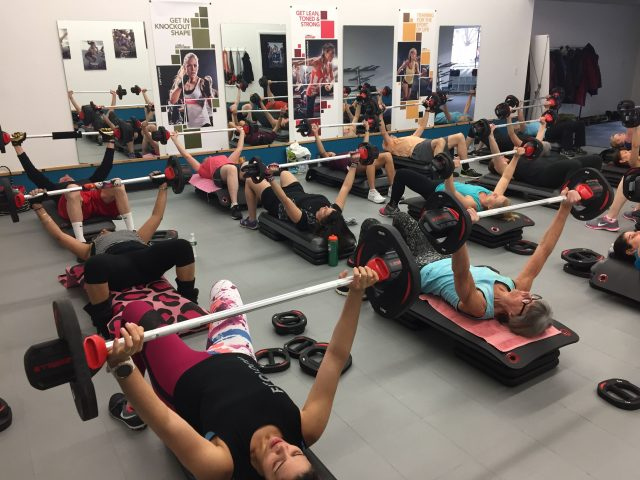 BODYPUMP at FLX Fitclub